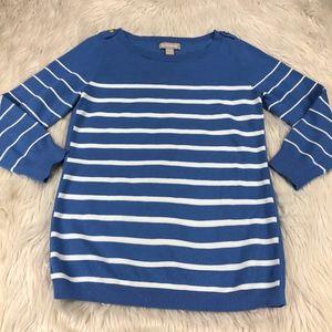 Banana Republic Texture Striped Sweater